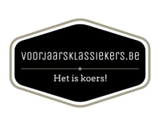Logo Voorjaarsklassiekers.be Nieuw