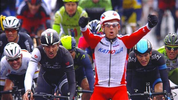 Milaan San Remo 2014 Kristoff