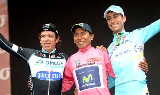 Podium Giro 2014
