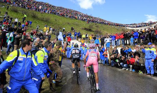 Parcours Giro d'Italia