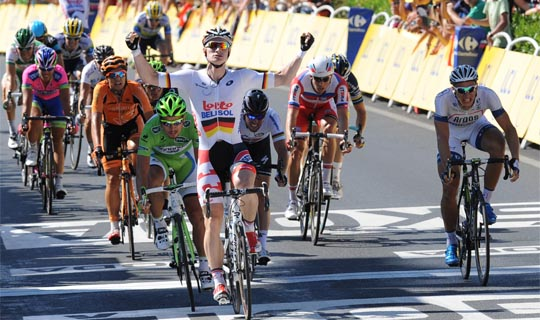 Favorieten groene trui Tour de France 2014