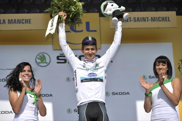 Favorieten witte trui Tour de France 2014