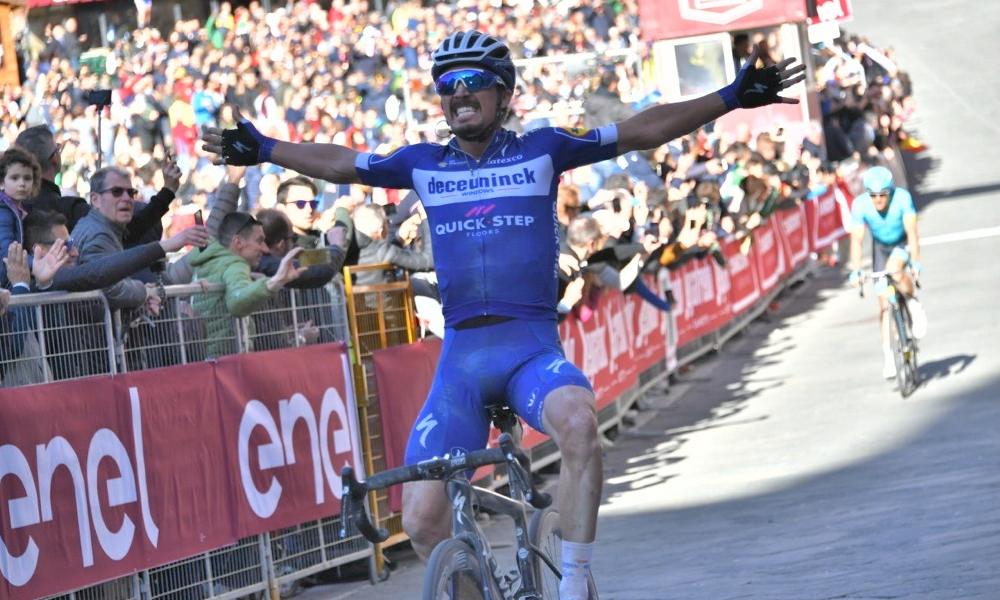 Julian Alaphilippe Strade Bianche 2020