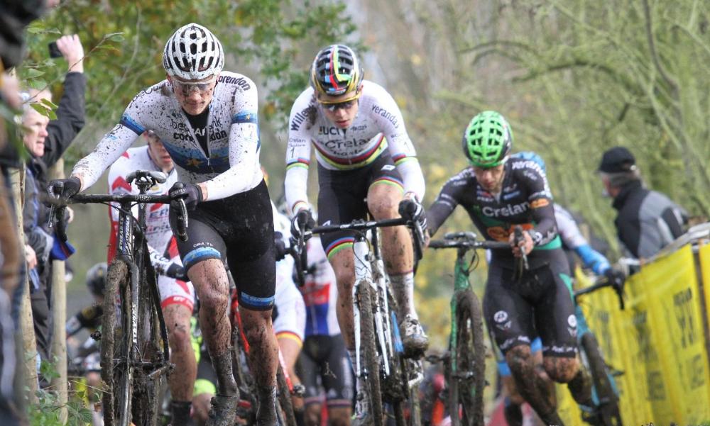 Veldrijden cyclocross van der Poel Van Aert