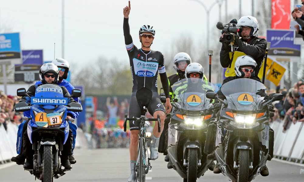 Niki Terpstra Dwars door Vlaanderen 2014