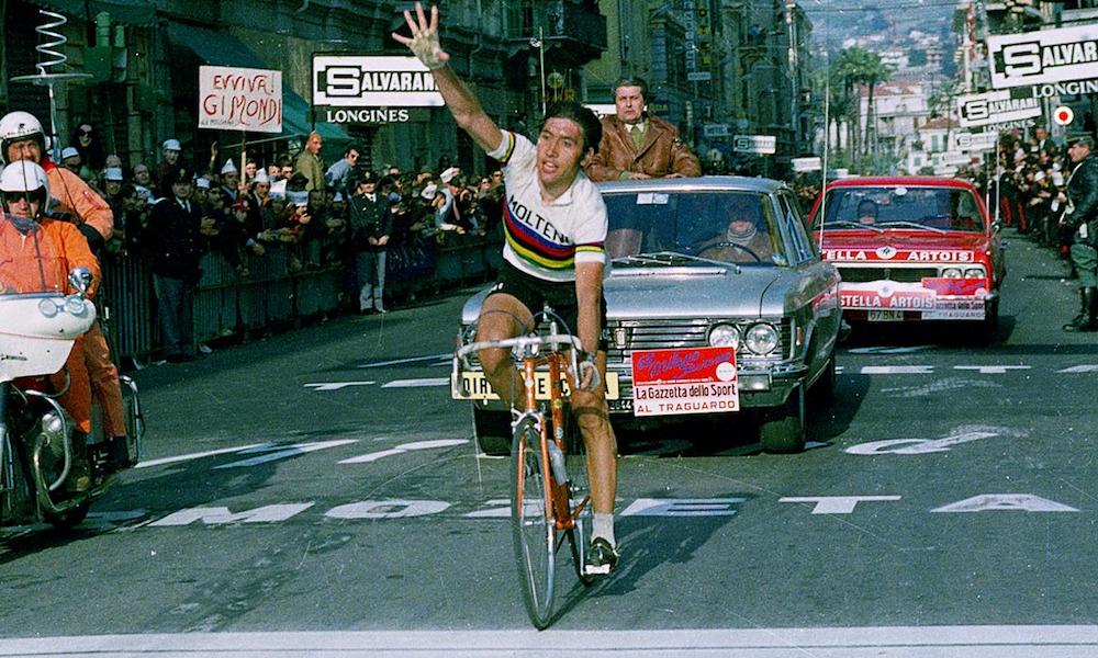 Retro Milaan San Remo Eddy Merckx 1975