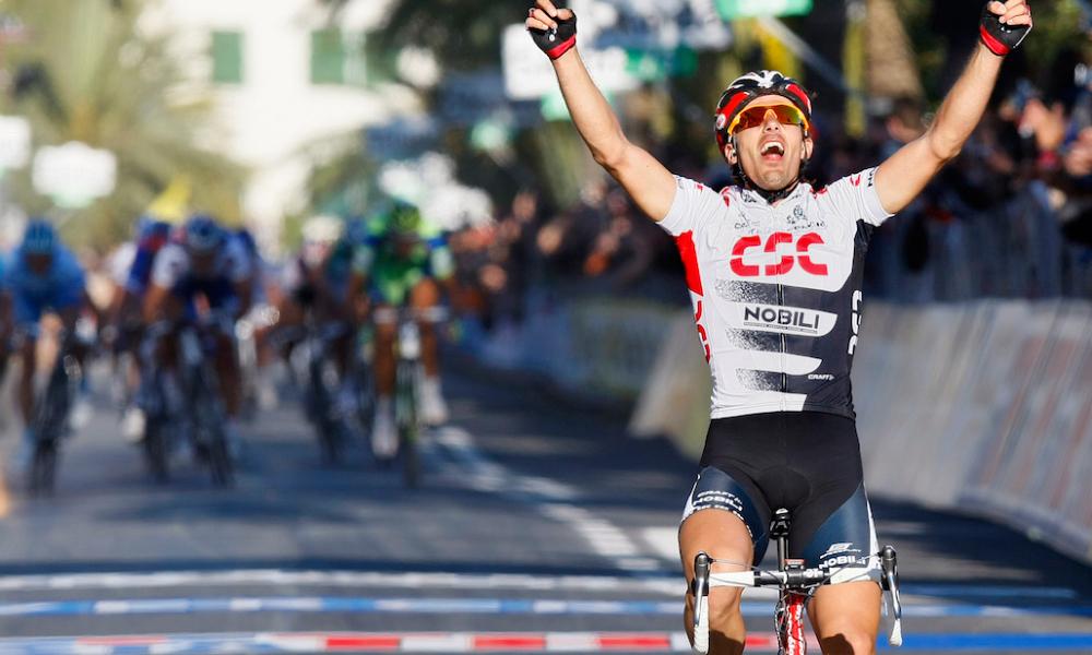 Retro Milaan San Remo Fabian Cancellara