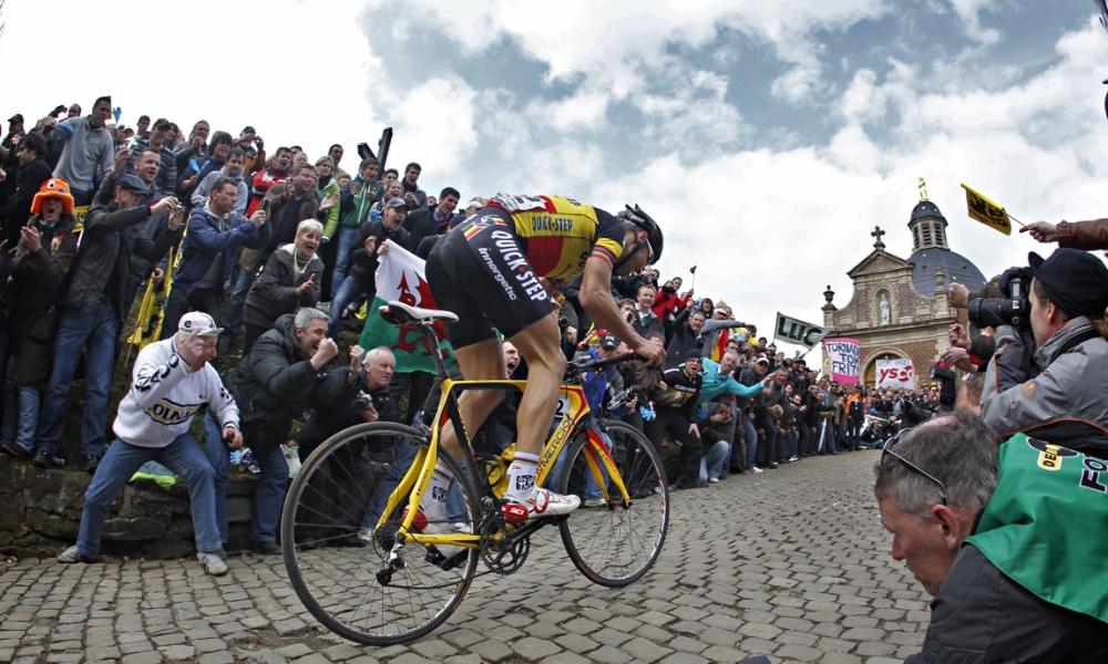 Tom Boonen Muur van Geraardsbergen Ronde van Vlaanderen