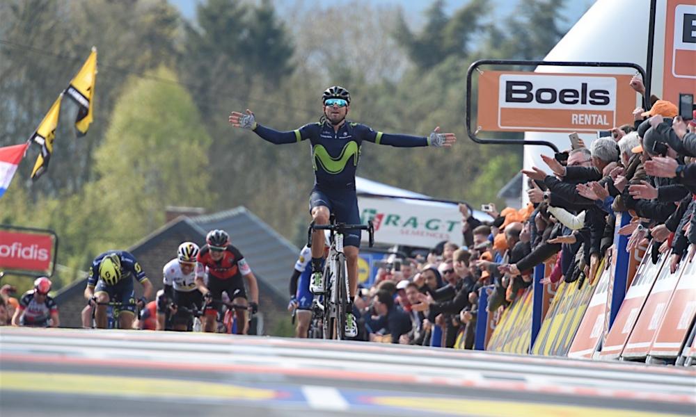 Alejandro Valverde Mister Mûr de Huy