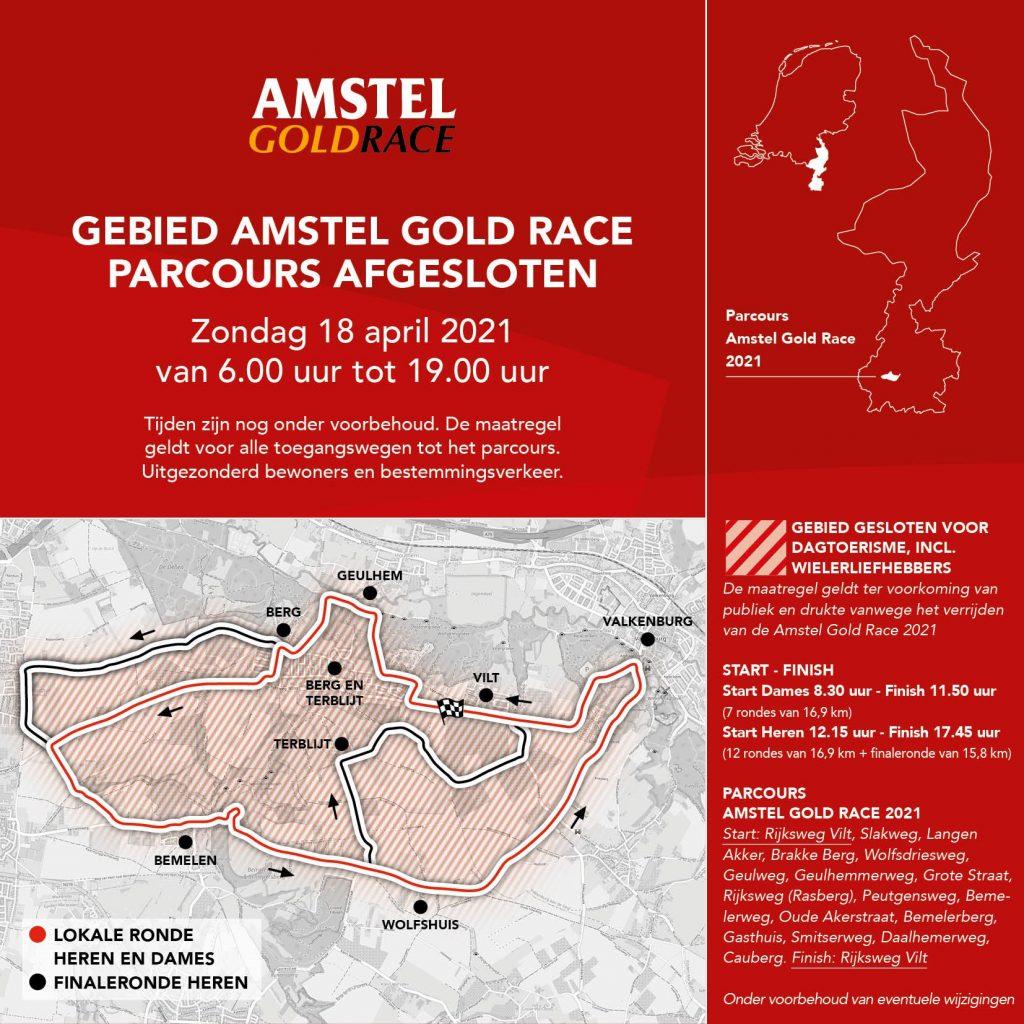 Parcours Amstel Gold Race 2021