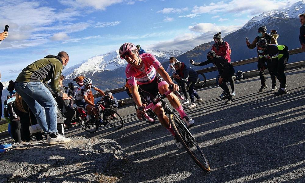 Favorieten roze trui Giro d'Italia 2021 Joao Almeida