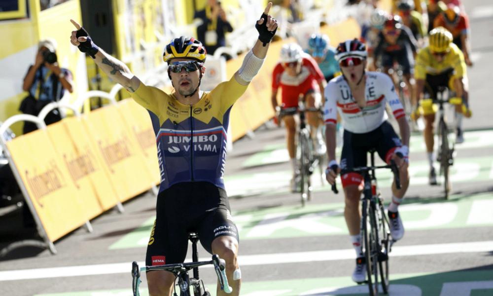 Favorieten gele trui Tour de France 2021 Primoz Roglic