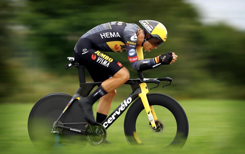 Wout van Aert tijdrit Tour de France