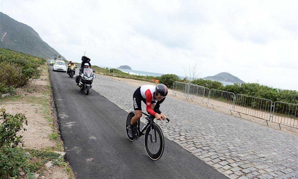 Fabian Cancellara tijdrit 2016 Rio