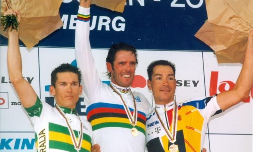 Mario Cipollini Zolder 2002 World Championship