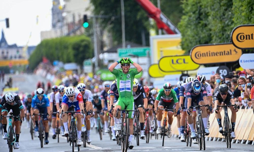 Mark Cavendish etappe 6 Tour de France 2021