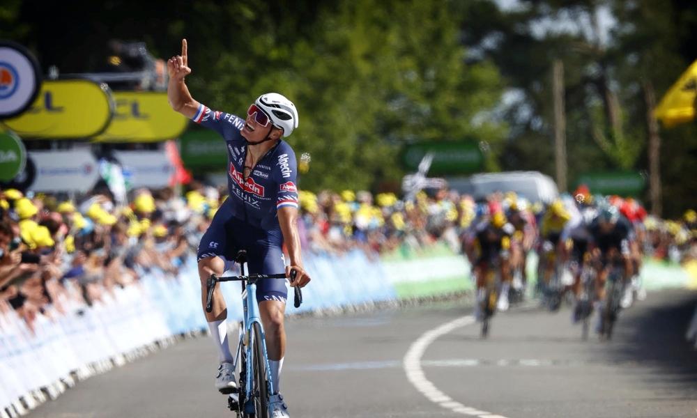 Mathieu van der Poel Tour de France 2021