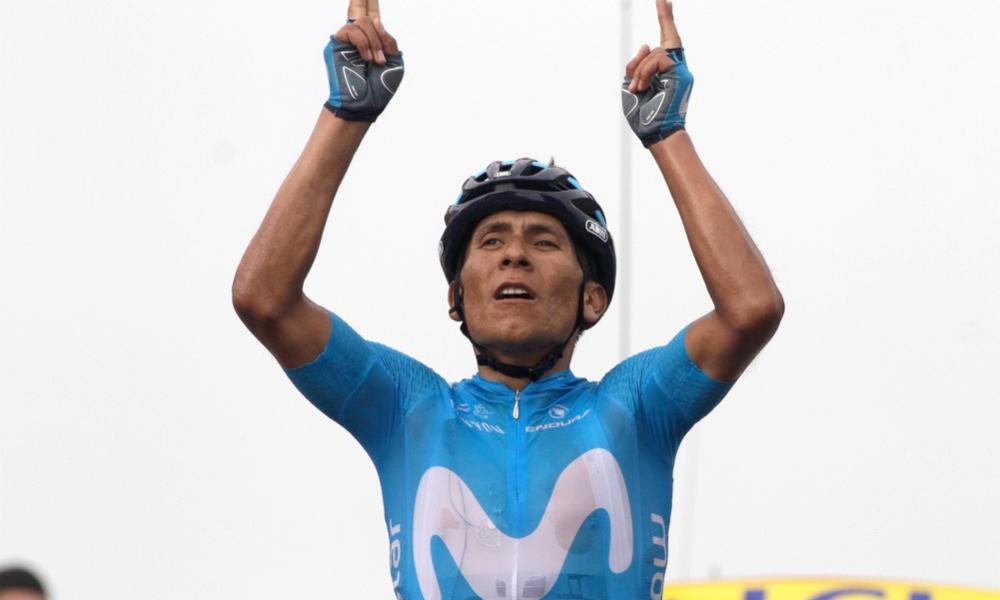 Nairo Quintana Col du Portet 2018