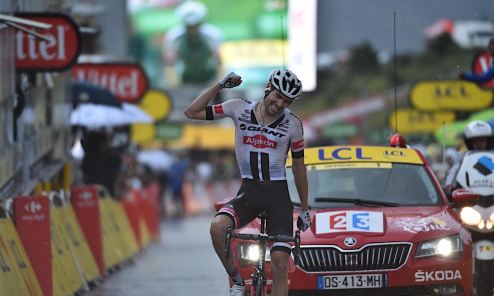 Tom Dumoulin Andorra Tour de France 2021