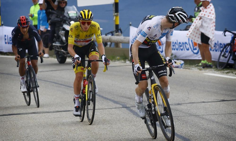 Tour de France Col du Portet 2021