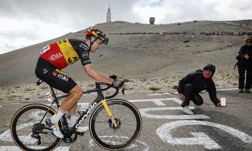 Wout van Aert Mont Ventoux Tour de France 2021