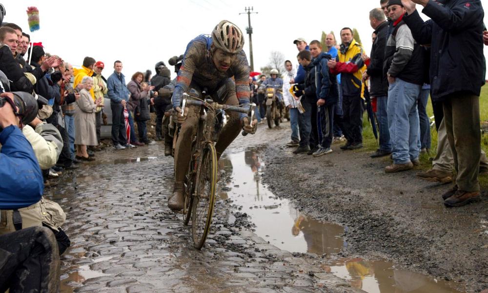 Parijs Roubaix 2021 natte editie Parijs Roubaix 2002 Tom Boonen
